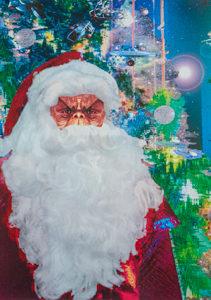 "Santa ""MORN""  Postcard (No message)"